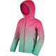 Regatta Anodize Softshell Jacket Kids Hot Pink/Island Green